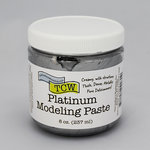 The Crafter's Workshop - Modeling Paste - Platinum - 8 Ounces