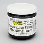 The Crafter's Workshop - Modeling Paste - Marcasite Silver - 8 Ounces
