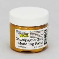 The Crafter's Workshop - Modeling Paste - Champagne Gold - 2 Ounces