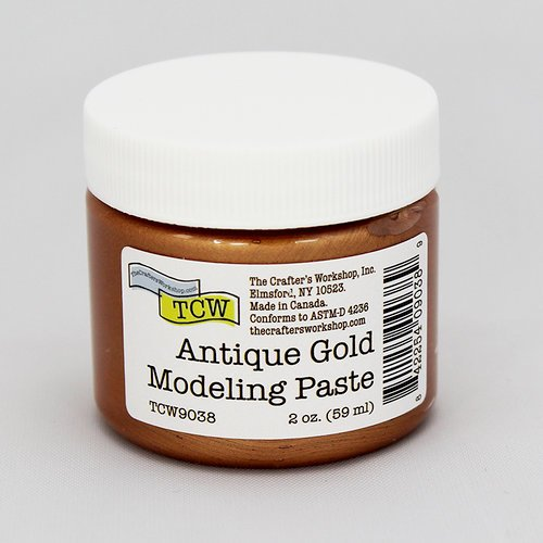 TCW Modeling Paste - Antique Gold