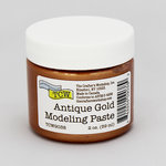 The Crafter's Workshop - Modeling Paste - Antique Gold - 2 Ounces