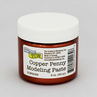 The Crafter's Workshop - Modeling Paste - Copper Penny - 2 Ounces
