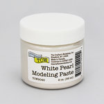 The Crafter's Workshop - Modeling Paste - White Pearl - 2 Ounces