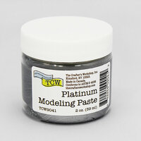 The Crafter's Workshop - Modeling Paste - Platinum - 2 Ounces