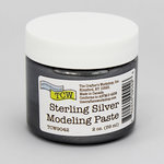 The Crafter's Workshop - Modeling Paste - Sterling Silver - 2 Ounces