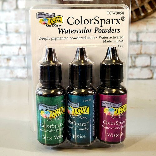 The Crafter's Workshop - ColorSparx Powders - Alpine