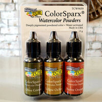 The Crafter's Workshop - ColorSparx Powders - Grassland