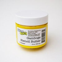 The Crafter's Workshop - Stencil Butter - Gamboge