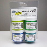 The Crafter's Workshop - Stencil Butter - Caribbean Sea Pack