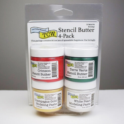 The Crafter's Workshop - Stencil Butter - Holiday Pack
