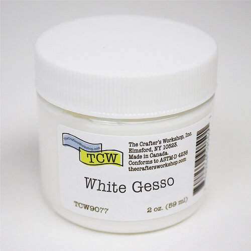 The Crafter's Workshop - Gesso - White - 2 Ounces