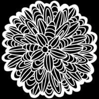 The Crafter's Workshop - 6 x 6 Stencils - Cactus Dahlia