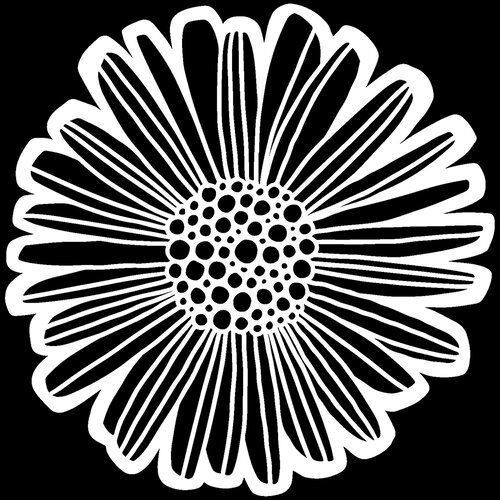 The Crafter's Workshop - 12 x 12 Stencils - Felicia Daisy
