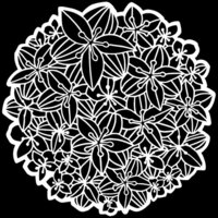 The Crafter's Workshop - 6 x 6 Stencils - Peruvian Lily