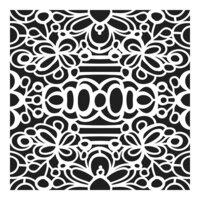 The Crafter's Workshop - 12 x 12 Stencils - Secret Garden