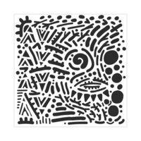 The Crafter's Workshop - 6 x 6 Stencils - Mystical Doodles