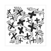 The Crafter's Workshop - 6 x 6 Stencils - X Trail