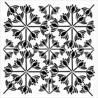 The Crafter's Workshop - 12 x 12 Stencils - Garden Tile