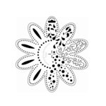The Crafter's Workshop - 6 x 6 Doodling Templates - Doodle Flower