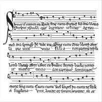 The Crafter's Workshop - 12 x 12 Stencils - Medieval Music