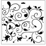The Crafter's Workshop - 12 x 12 Doodling Templates - Swirly Vines