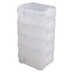 Storage Studios - Super Stacker Bitty Box - Clear - 5 Pack