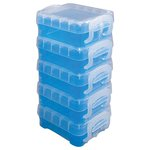 Storage Studios - Super Stacker Bitty Box - Blue - 5 Pack