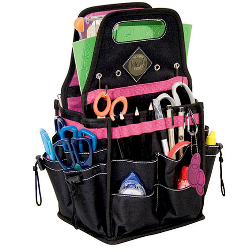 Advantus - All My Memories - Tote-Ally Cool Tote 4 - Wild Berry and Black