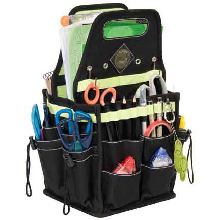 Advantus - All My Memories - Tote-Ally Cool Tote 4 - Green Apple and Black