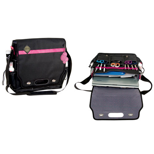 Advantus - All My Memories - Tote-Ally Cool Tote 4 - Shoulderbag - Wild Berry and Black