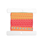 Cropper Hopper - Ribbon Cards - Medium - 10 Pack - 3 x 3