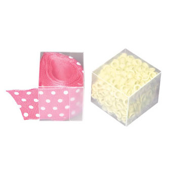 Cropper Hopper - Embellishment Essentials Boxes - Mini Cube - 4 pack