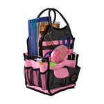 All My Memories - Tote-Ally Cool Tote 7 - Pink and Grey