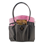 All My Memories - Tote-Ally Cool Tote 7 - Shoulderbag - Pink and Grey