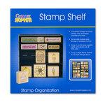 Cropper Hopper - Stamp Shelf - Stamp Organization