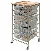Storage Studios - Tim Holtz - Idea-ology Industrial Storage Cart