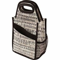 Advantus - Tim Holtz - Idea-ology Collection - Spinning Tote - Typography