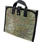 Advantus - Tim Holtz - Idea-ology Collection - Folding Tote - Expedition