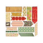 Cosmo Cricket - Honky Tonk and TV Dinner Collections - Fabric Stickers