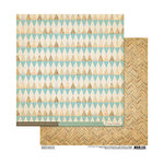 Cosmo Cricket - Sweet Disposition Collection - 12 x 12 Double Sided Paper - Dancefloor