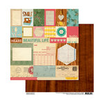 Cosmo Cricket - Sweet Disposition Collection - 12 x 12 Double Sided Paper - You and Me