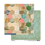 Cosmo Cricket - Sweet Disposition Collection - 12 x 12 Double Sided Paper - XOXO
