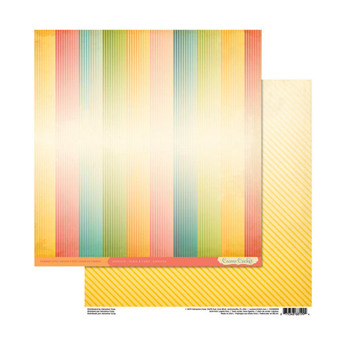 Cosmo Cricket - Summer Love Collection - 12 x 12 Double Sided Paper - Popsicle