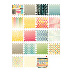 Cosmo Cricket - Summer Love Collection - Mini Deck - 8 x 8 Paper Pad
