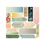 Cosmo Cricket - Summer Love and Sweet Disposition Collections - Fabric Stickers
