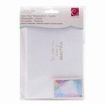 Advantus - Cosmo Cricket - Watercolor Collection - 4 x 6 Cards - Shades of Beautiful