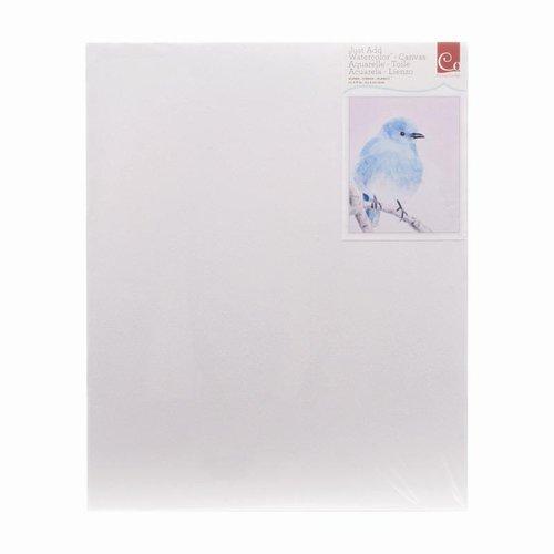 Advantus - Cosmo Cricket - Watercolor Collection - 8 x 10 Canvas - Blank