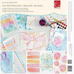 Advantus - Cosmo Cricket - Watercolor Collection - 12 x 12 Paper Deck
