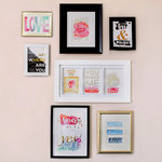 Advantus - Cosmo Cricket - Just Add Watercolor Collection - 5 x 7 Gallery Art Deck