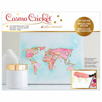 Advantus - Cosmo Cricket - Just Add Watercolor Collection - 8 x 10 Map